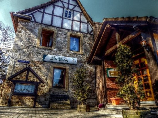 Korbach, Duitsland: Alte Wiese