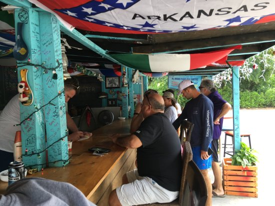 Bodden Town, Grand Cayman: Bar area
