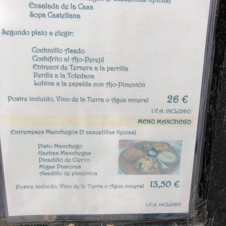Restaurante Museo de Productos de Castilla-La Mancha: photo1.jpg