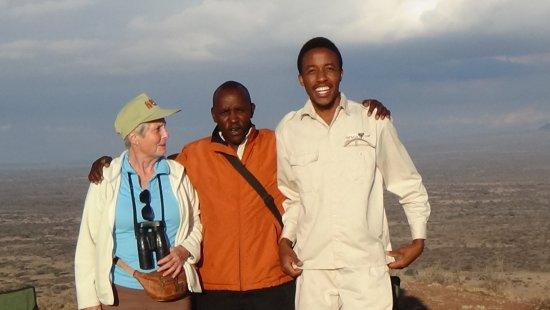 Shu'mata Camp: Shu´mata Hügel mit Blick in die Massaisteppe