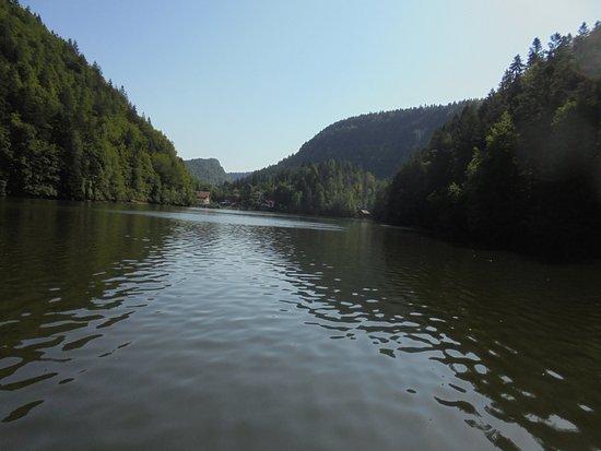 Les Brenets, Szwajcaria: no lago