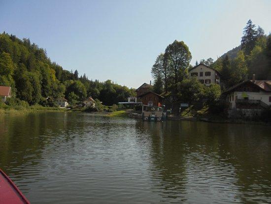 Les Brenets, Szwajcaria: Saut du Doubs