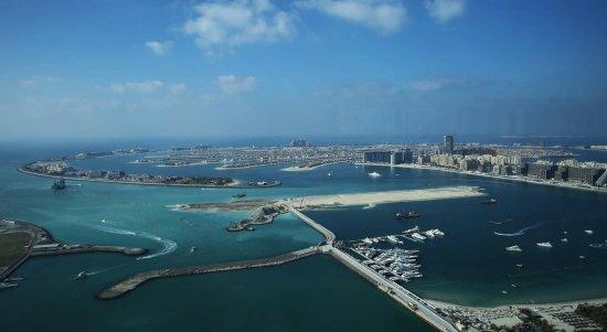 فندق وأجنحة ماريوت هاربر دبي: Vista dal ristorante al 52esimo piano