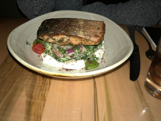 The Elm Tree Restaurant: Salmon