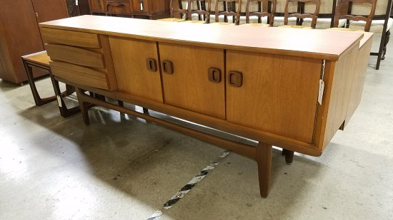 Mid Century Modern Teak Buffet Very Cool I Think 1960s Picture