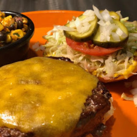 Our #1 seller: the American Burger is a custom blend of chuck, short rib, and brisket.
