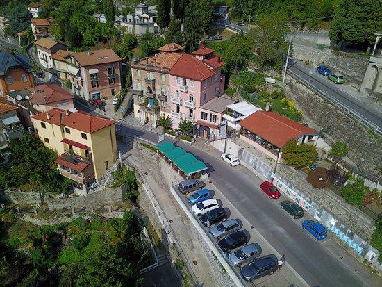 Nesso, Italy: Vista aerea