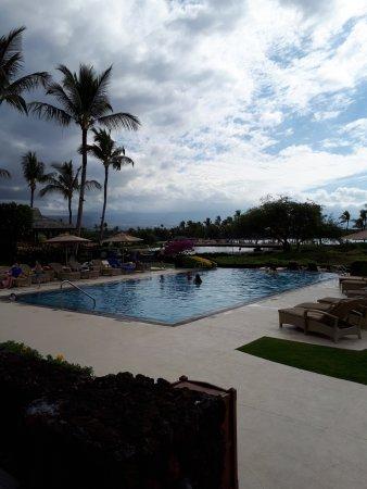 Waikoloa Beach Resort: Swiimming pool.