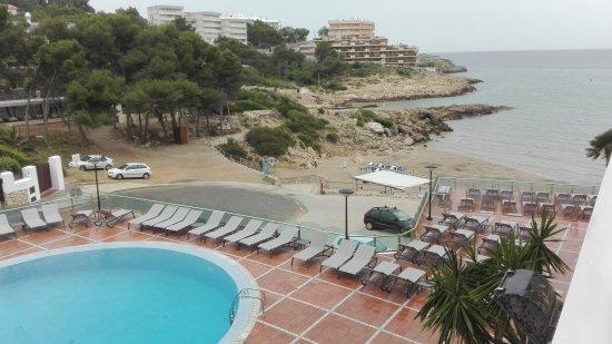 Cala Font Hotel: Vista de la habitación