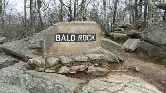 Delta, AL: Bald Rock Point inside the grounds at the park