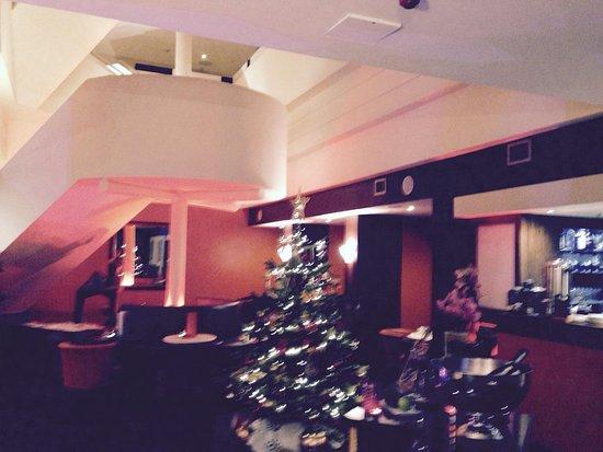 The hotel's Tangerine Bar.