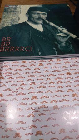 Cilipi, Croacia: Special mustache exhibition