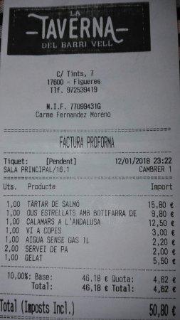 La Taverna del Barri Vell: IMG_20180114_203459_large.jpg