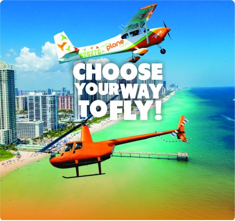 Pembroke Pines, Flórida: Helicopter and Airplane Tours