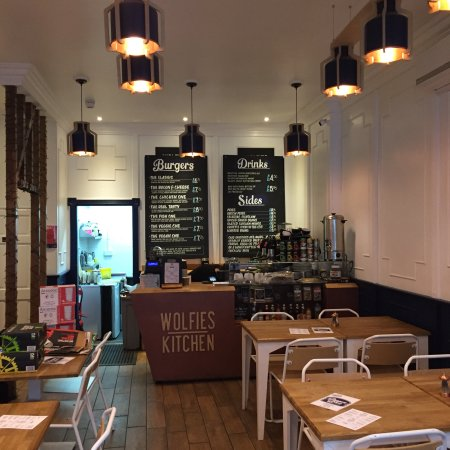 Brighton and Hove, UK: Wolfies Kitchen