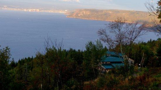 Sainte-Rose-du-Nord, Kanada: Vue sur le fjord