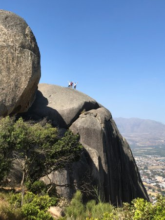 Paarl Mountain Nature Reserve: You can climb all the way out onto the rocks