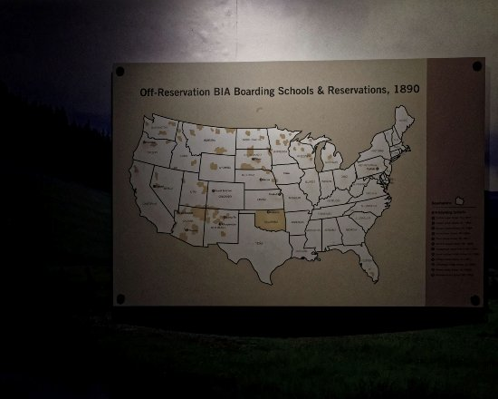 Us Map Of Indian Reservations Picture Of Heard Museum Phoenix - Map-of-reservations-in-us
