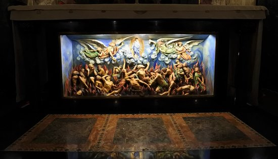 Franciscan Monastery of the Holy Land : Purgatory Alter in the Catacombs