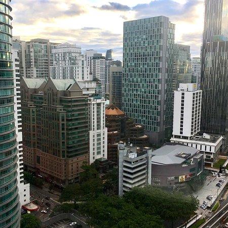 Shangri-La Hotel Kuala Lumpur: My stunning city view