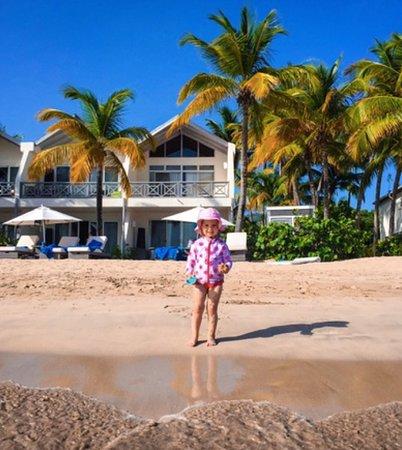 Carlisle Bay Antigua: The beach front room is literally on the beach