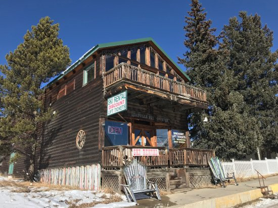 Leadville, CO: Our storefront, originally TJ Fur and SIlver Trading Co.
