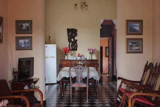 Ciego de Avila, Cuba: sala comedor