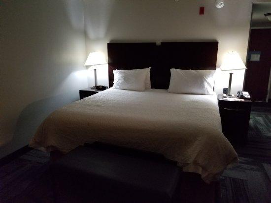 Hampton Inn & Suites Orlando - John Young Pkwy / S Park : Bedroom