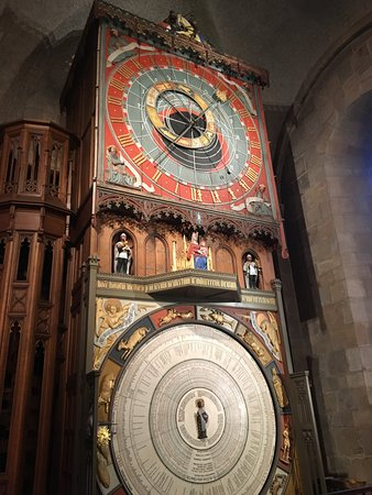 Lund, Suecia: Medieval Astronomical Clock - still works perfectly! Gorgeous!