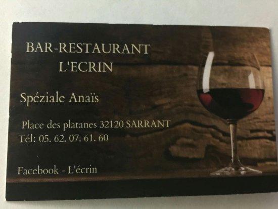 Sarrant, Frankreich: L'Ecrin