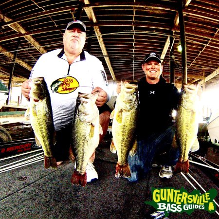 Guntersville Bass Guides: Mike Harvey From Oklahoma