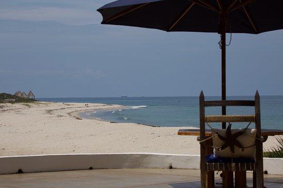 Kutani, Tanzania: View from dining room