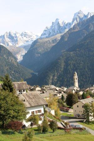 The village of Soglio Switzerland - an amazing sight