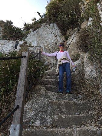 Mediterranean Steps, Rock of Gibraltar