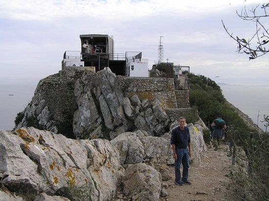 Top of Rock of Gibraltar via Mediterranean Steps