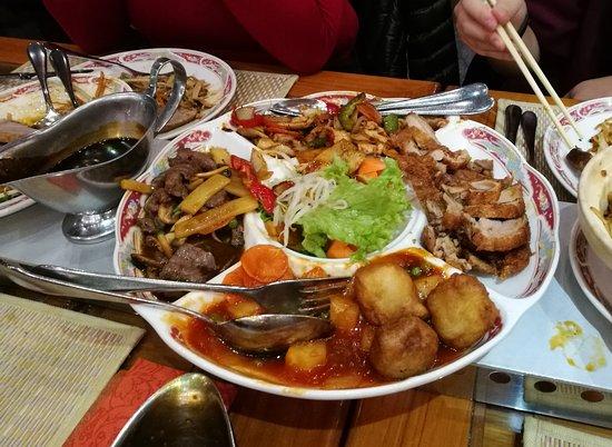 5 Sterne China Restaurant: Fünf-Rosen-Platte