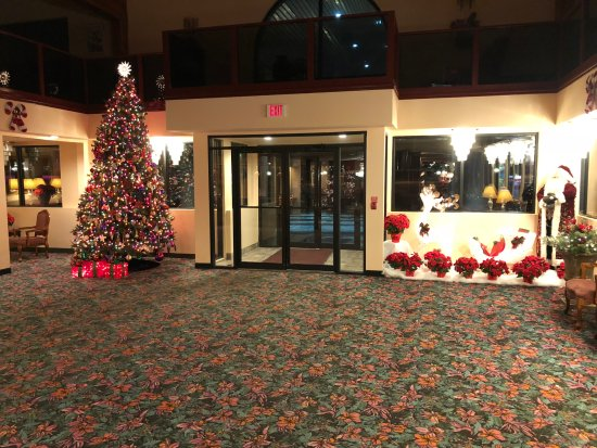 Grand Marquis Waterpark Hotel & Suites: Large Open Lobby