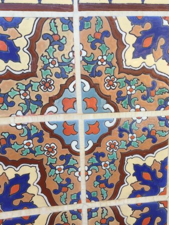 Adamson House and Malibu Lagoon Museum: Tiles