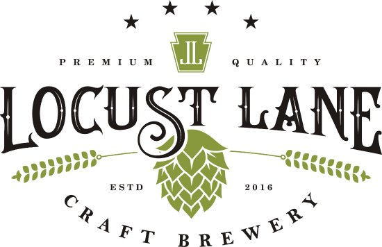 two of our brews stout and pale ale locust lane craft