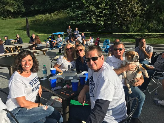 Malvern, PA: Anther PSU tailgate shot.