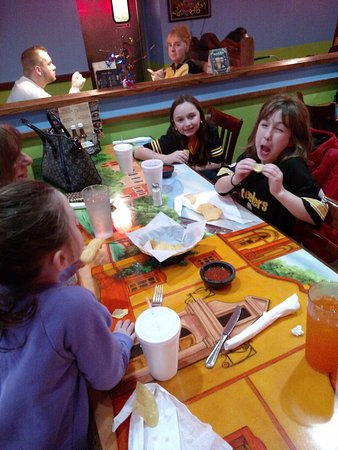 Irwin, PA: Grand children eating the lemon and limes