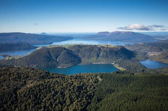 15-Minute Crater Lakes Flight by Floatplane from Rotorua
