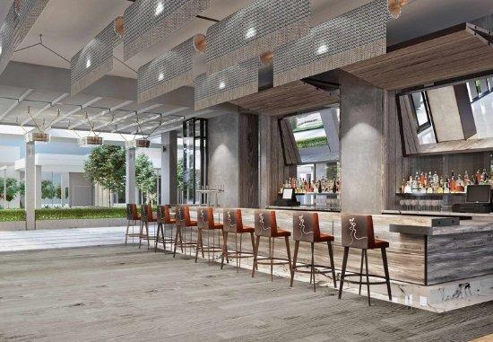 Menlo Park, كاليفورنيا: Bar/Lounge