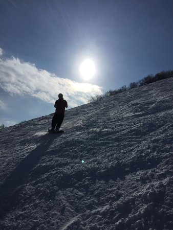Great snowboarding