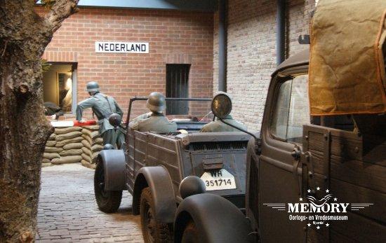 Nijverdal, The Netherlands: De aanval op Nederland door de Wehrmacht in mei 1940
