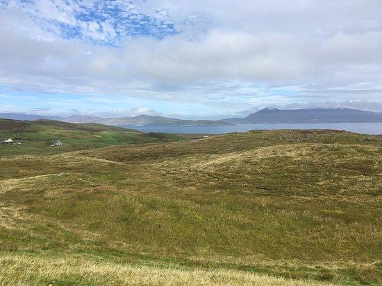 Clare Island: El paisaje de praderas de Clare Islans