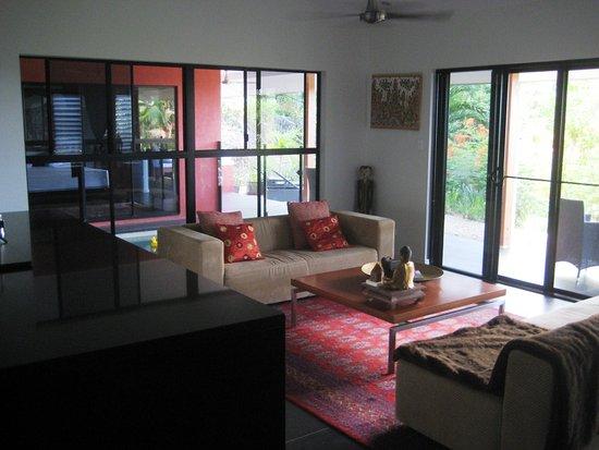 Mai Tai Resort: Part of huge open plan living area