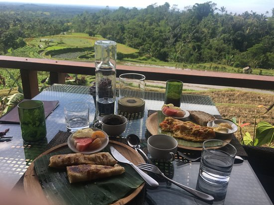 Baturiti, Endonezya: Breakfast options