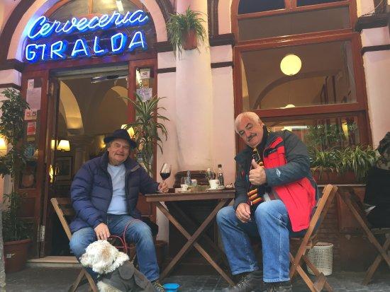 Cerveceria Giralda : Great lunch venue