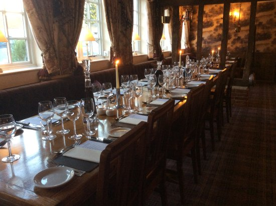 Clavering, UK: Our restaurant area holds 65 guests.